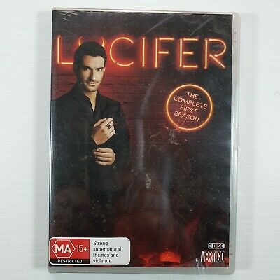 Lucifer : Season 1 (DVD, 2016, 3-Disc Set)