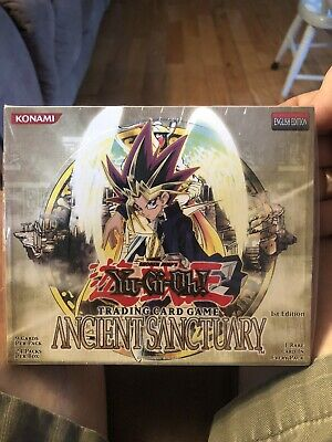 Yu-Gi-Oh Ancient Sanctuary 1st. Edition Booster Box English Edition . Unopened