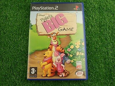 Piglet S Big Game Ps2 Pegi 3 Adventure Point And Click Fast And Free P P 3 94 Picclick Uk