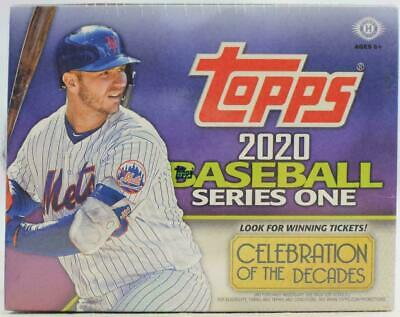 2020 Topps Series 1 Baseball Jumbo Factory Sealed Box