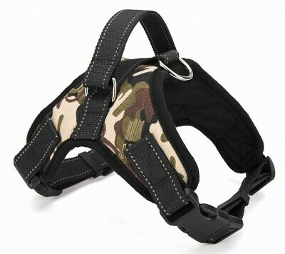 No Pull Dog Pet Harness Adjustable Control Vest Dogs Reflective XS S M XXL Camo