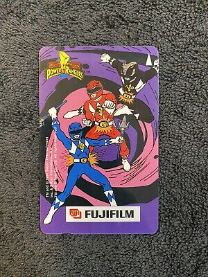 Printed Signatures Phone Cards Set of 4 Mighty Morphin Power Rangers Stars $20