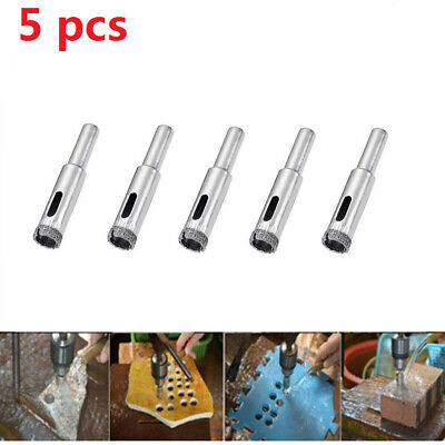 20PCS 1mm Diamond Coated Hole Saw Core Drill Bit for Marble Tile Ceramic Glass