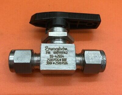 Details about  /Swagelok SS-42GS4-1466 316SS 1-Piece 40G Series Ball Valve 1//4 TUBE OD C0422