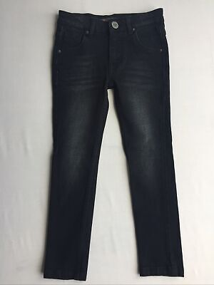 Boys Ben Sherman Black Jeans 5-6 Years Adjustable Waist Brand New Without Tags
