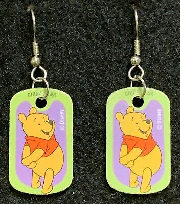 TIGGER Earrings Disney Winnie the Pooh Friends Stainless  New Tiger style B