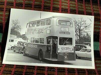 London Bus Photo B W Shoplinker Rm2154 Sw Cuv154c Austin Reed Park Lane 0 99 Picclick Uk