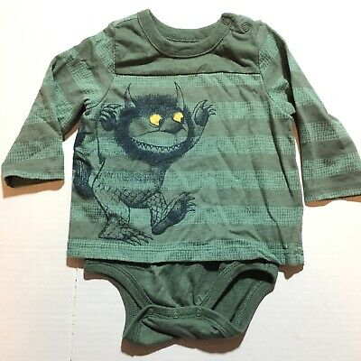qidushop Where The Wild Things are Novelty Infant Bodysuit One-Piece Bodysuits