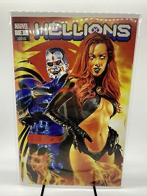 HELLIONS 2 2020 MIKE MAYHEW EXCLUSIVE TRADE VARIANT NM DX