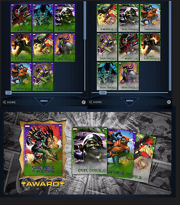 HIT THE STREET COLLECTION-PURPLE+BROWN BASE-40 CARD SET-TOPPS MARVEL COLLECT