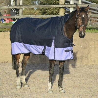 Outdoor Turnout Aqua//Grey Winter Mediumweight 150G Breathable Rugs 5/'3-6/'9 100gs
