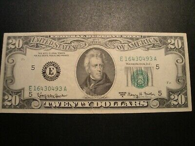 1 $1.00 Series 1981-A Federal Reserve Note XF Circulated Condition