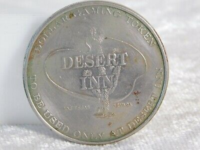 Vtg Desert Inn Las Vegas Neveda Casino $1 Gaming Chip Token