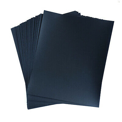 """STARCKE 9"""" x 11"""" Premium Wet or Dry Waterproof Silicon Carbide Sandpaper Sheets"""