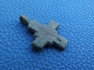 Ancient bronze cross Kievan Rus 10-12 century #1123