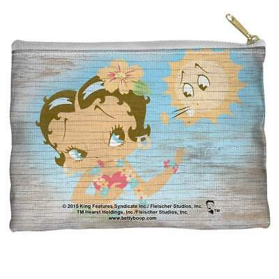 Betty Boop Hula Boop Accessory Straight Bottom Pouch