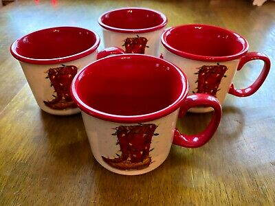 Fast Shipping Pioneer Woman Holiday Medley Novelty 16 Ounce Camper Mugs NEW!