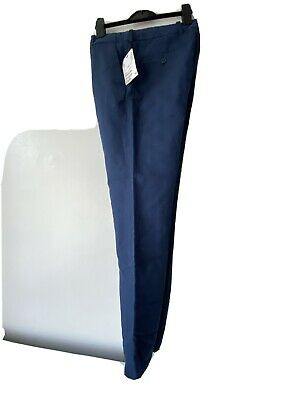 H&M Boy's Blue Straight Trousers Age 12-13 Years RRP £21