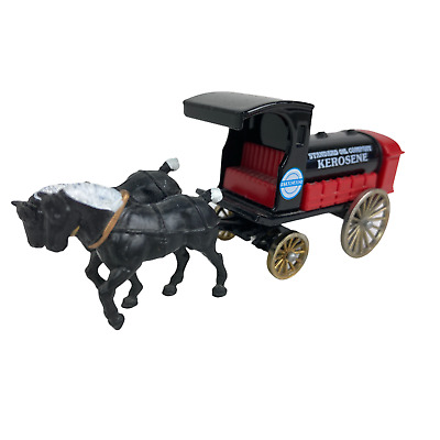Horse Drawn Oil Tank Wagon Standard Oil Co Kerosene Delivery Lledo Toy Model