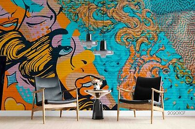 Details about  /3D Retro Car Street B216 Transport Wallpaper Mural Self-adhesive Removable Wendy