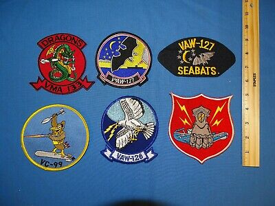 US Navy Squadron Patch VAW-121 from Squadron 1976