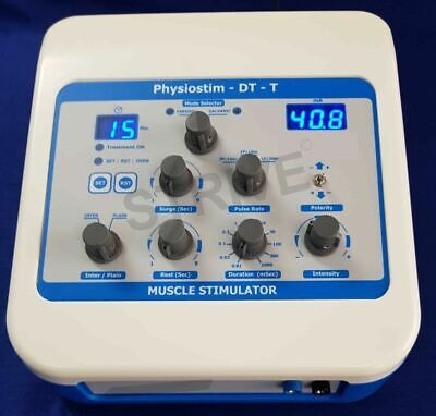 Chiropractic Therapeutic Physiostim Digi Electrotherapy Physical Therapy Machine