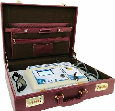 New Laser Therapy Unit Low Level Laser Therapy with 45 Programs and Brief Case