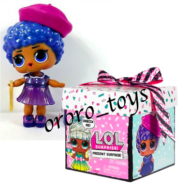LOL Surprise Present September Sweet Sapphire Doll Birthday Gift Box Bags Sealed
