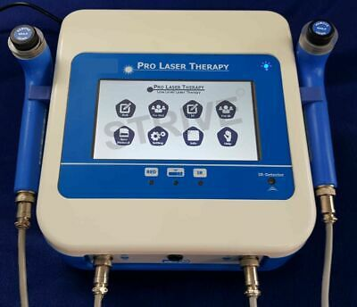 LLLT Therapy Cold Laser Therapy 2 Probe & 120 Preset Program 980nM Chiropractic