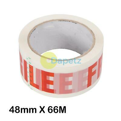 Packing Tape Fragile - 48mm X 66M Biaxially-Oriented Polypropylene Film