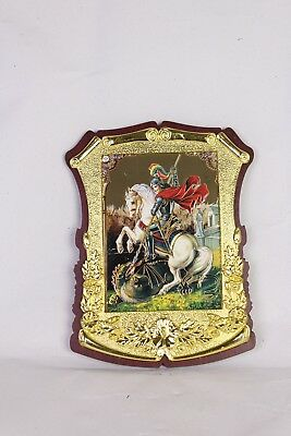Saint George Holy Great Martyr George the Trophy-Bearer Orthodox Icon 14x19cm