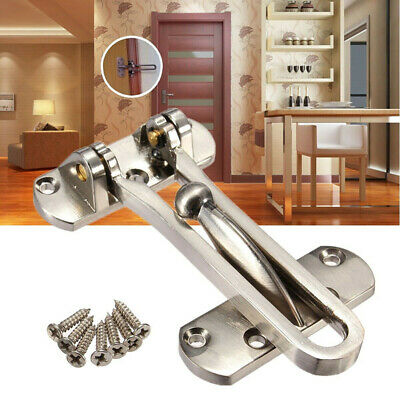 Thicken Front Door Security Chain Restrictor Strong Safety Lock Guard Catch SH