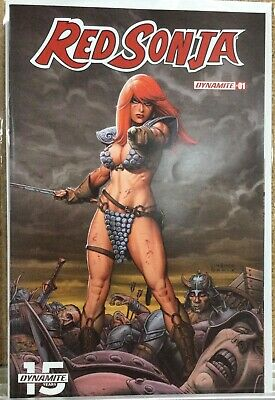 Vault 35 Red Sonja Vol 5 #1 Cover A NM Dynamite