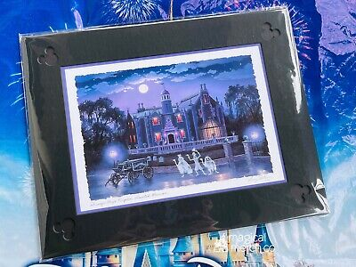 Haunted Mansion Don/'t Try To Hide Print By Kevin-John