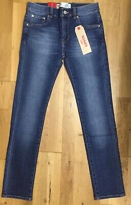 LEVI'S Boys Blue Skinny 510 Jeans 10 years RRP £ 56.00