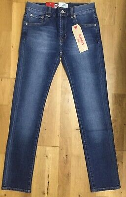 LEVI'S Boys Blue Skinny 510 Jeans 8 years RRP £ 56.00