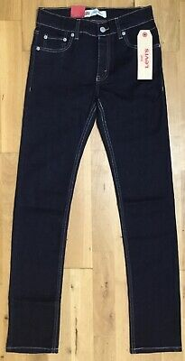 LEVI'S Boys Blue Skinny 510 Jeans 12 years