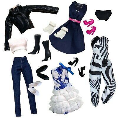 """Eledoll Clothes 80's Classic Dance Aerobics Outfit Fashion Pack For 11.5"""" Doll"""