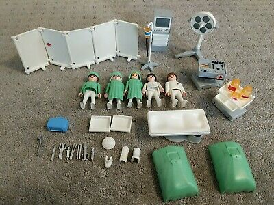 27641 playmobil stand light hospital operating room 3459 yellowing