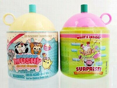 Smooshy Mushy Pink Do-Dat Donuts Mystery Surprise Series 2 Scented 2 NEW