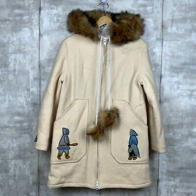 Vintage Northern Sun Wool Coat Fur Trim, What Are Eskimo Coats Made Of