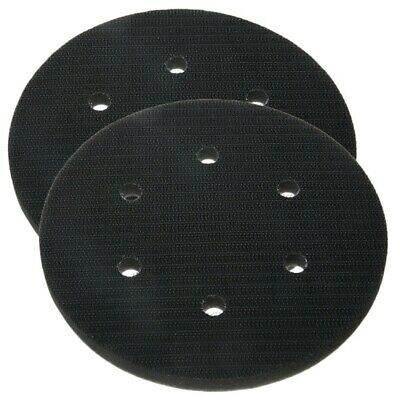 2 PCS 150mm 6-Hole Soft Sponge Interface Pad For Power Tool Attachment
