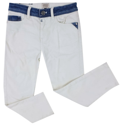 NEW Emporio Armani Junior RRP £145 AGE 16 YEARS Kids Boys White Jeans Pants A704