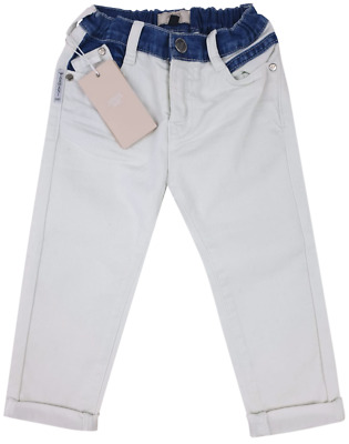 NEW Emporio Armani Junior RRP £145 AGE 36 MONTH Kids Baby White Jeans Pants A903