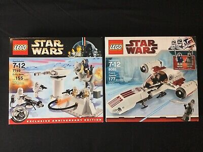 Lego Star Wars 4 Lot Set 8083 8084 8085 7749 New /& Sealed Retired Snow Sets