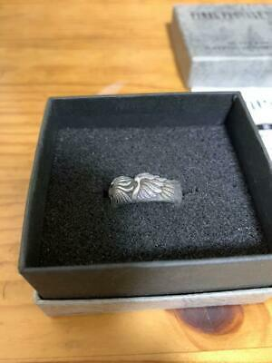 FINAL FANTASY VIII 8 SLEEPING LIONHEART Silver 925 Ring Size 11 F/S from Japan