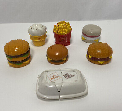 Loose Complete Set of 6 Transformers McDonalds 1987 Changeables