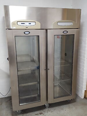 Foster EcoPro 2 Glass Door Cabinet Fridge Cooling Lab