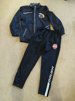 Bauer Childs Jacket And Bottoms Size Youth . England Ice Hockey Team