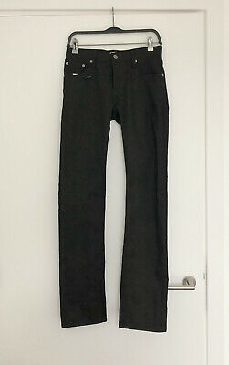 NEW TAGS Burberry Mens Demin Jeans Black Slim Leg Steadman 28W